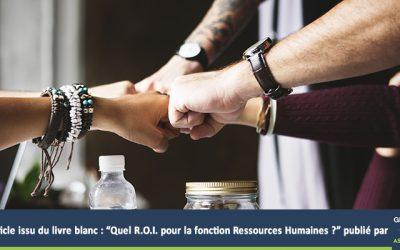 Livre blanc : Quel ROI pour la fonction Ressources humaines?